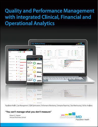 dashboardMD brochure